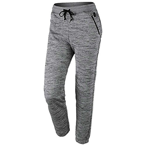 Hurley GFB0000060 Womens Phantom Jogger Pant, Dark Grey Heather - L