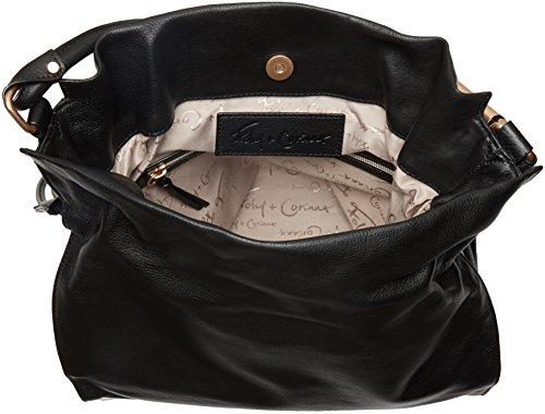 Bag Faye Hobo Drawstring Corinna Black Foley Lg qFH1vFw