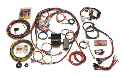 Painless 20121 Direct Fit Mustang Chassis Harness (1967-1968, 22 Circuits)