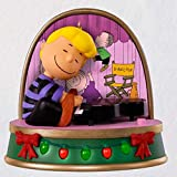 Hallmark HMK 2018 Keepsake A Charlie Brown Christmas Schroeder Ornament with Sound and Light