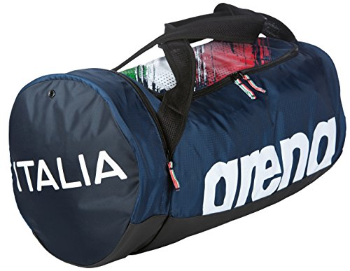 arena Fast Duffle Fin Italy Bag, Navy White, One Size by arena (Image #2)