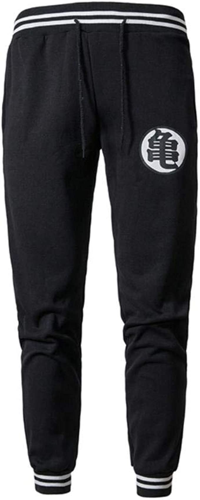 Dragon Ball Z Cotton Pants Mens Sweatpants Son Goku Black Gray Unisex Trousers