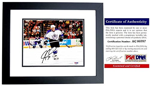 - Jeremy Roenick Autographed Signed Los Angeles Kings 8x10 Photo Black Custom Frame- 513 Goals - 703 Assists - PSA/DNA Authentic