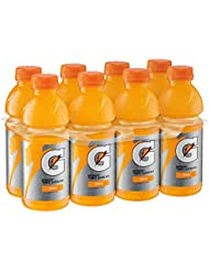 Gatorade Thirst Quencher, Orange, 20 Ounce (Pack of 8)