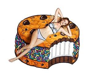 BigMouth Inc Gigantic Cookie Sandwich Beach Blanket
