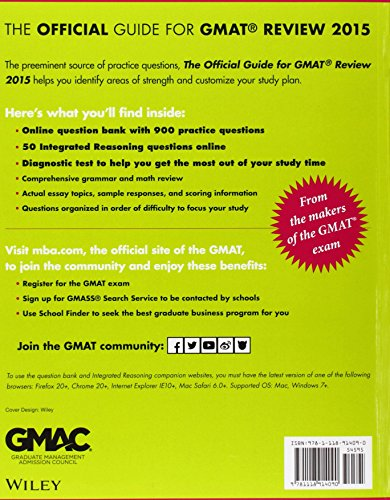 offical the gmat guide for