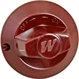 WOLF OVEN KNOB (RED) 927011