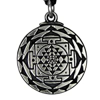 Sri Yantra Great Wealth Hindu Goddess Pendant Tantric Yoga Hindi Jewelry