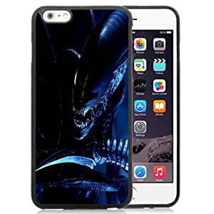 Beautiful Unique Designed Cover Case For iPhone 6 Plus 5.5 Inch With Alien Scary Black Phone Case
