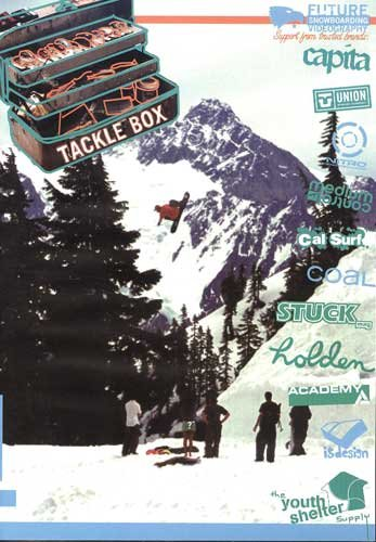 Tackle Box Snowboarding DVD - NEW!!! -