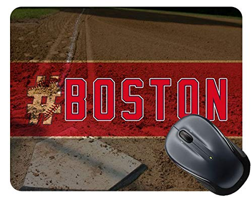 - BRGiftShop Hashtag Boston #Boston Baseball Team Square Mouse Pad