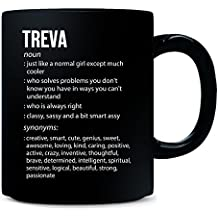 Treva Name Meaning Xmas Birthday Gift - Mug