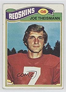 Joe Theismann COMC REVIEWED Good to VG-EX (Football Card) 1977 Topps #74
