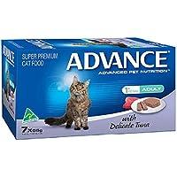 Advance Tender Chicken Adult Cat Food Pack, 7 Piece