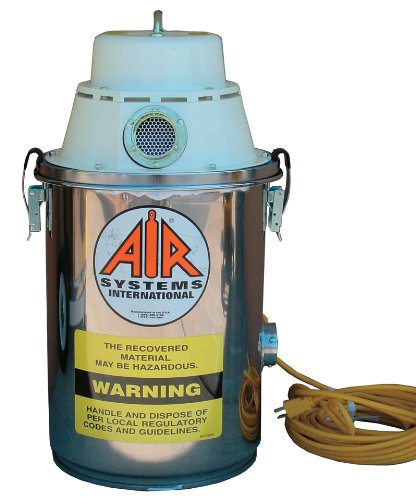 Air Systems AV-2 2 Gallon Recovery HEPA Filtered Electric Vacuum