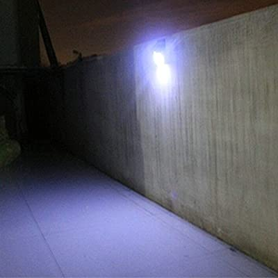 16 LED Solar Motion Sensor Wall Lights|Super Bright, Weather-Proof, Easy Installation, No Wire Needed,Outdoor for Garden, Fence, Patio, Deck, Yard, Driveway, Stairs