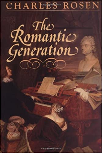 the romantic generation the charles eliot norton lectures