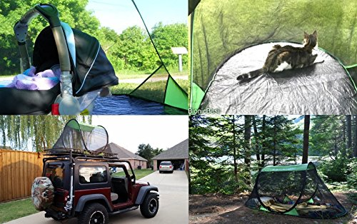 SansBug Free-Standing Pop-Up Mosquito-Net (Tarp Floor) : sansbug pop up tent - memphite.com