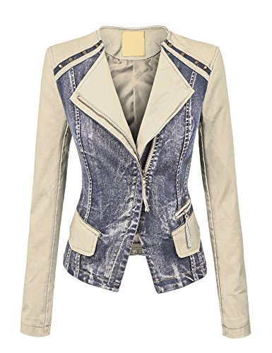 Denim Moto Jacket - 5
