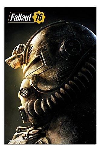Fallout 76 T51b Poster Satin Matt Laminated - 91.5 x 61cms