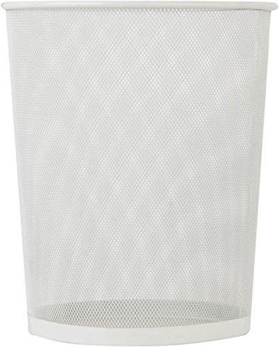 Buy trash bin small white