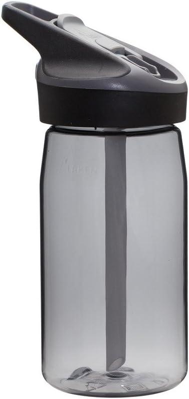 Laken 8412544036612 Botella Tritan Tapon Deportivo Jannu y Boca Ancha 450 ML Granito, Adultos Unisex, 450ML