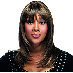 Vivica A Fox H201-V Pure Stretch Cap Wig, Color FS1B/30, 4.1 Ounce