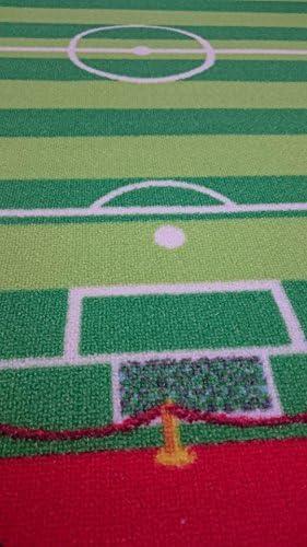 TAPITOM Alfombra de fútbol para niños - Alfombra de Campo de ...