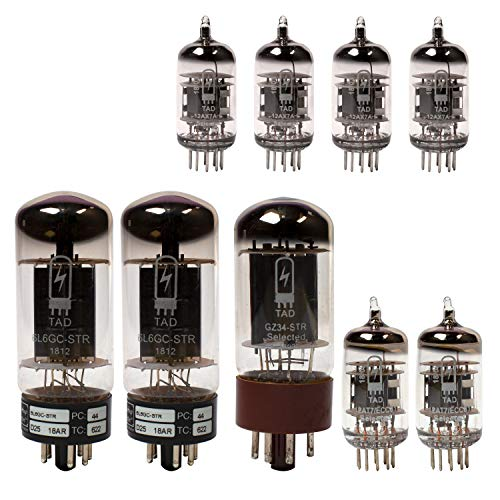 Fender Vibrolux Reverb Tube Set with Matched Power Tubes, TAD brand tubes ()