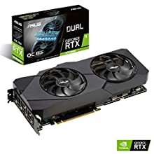 ASUS Dual GeForce RTX 2070 Super EVO OC Edition 8GB GDDR6 - Tarjeta gráfica (Ventiladores Axial-Tech, Tecnología Auto-Extreme, Estructura Reforzada, GPU Tweak II)