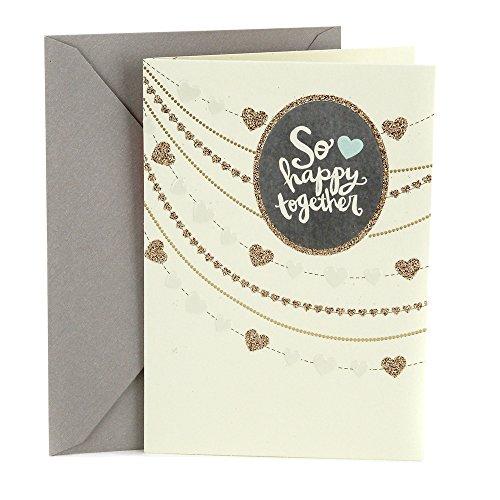 Hallmark Wedding Card (Strings of Hearts)