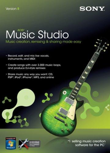 Price comparison product image Sony Acid Music Studio 8.0 [Old Version]