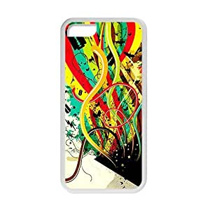 Rockband Modern Fashion Guitar hero and rock legend Phone Case for iphone 5/5s iphone 5/5s(TPU)