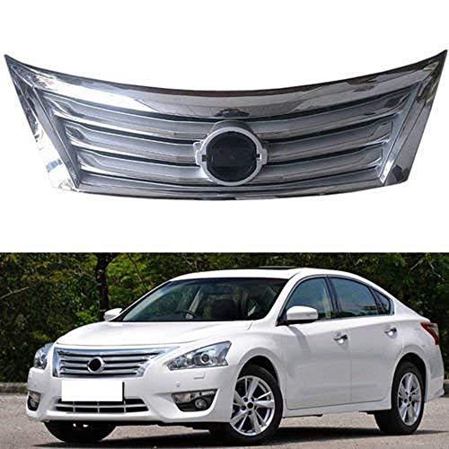 - Front Radiator Hood Grill ABS Chrome Grille for Nissan Teana/Altima 2013-2015