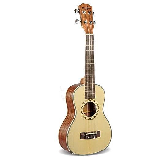 Ukulele ukelele ukelele ukelele guitarra pequeña de 23 pulgadas ...