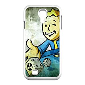 Vault Boy Fallout Game 001 Samsung Galaxy S4 9500 Cell Phone Case White yyfD-371699