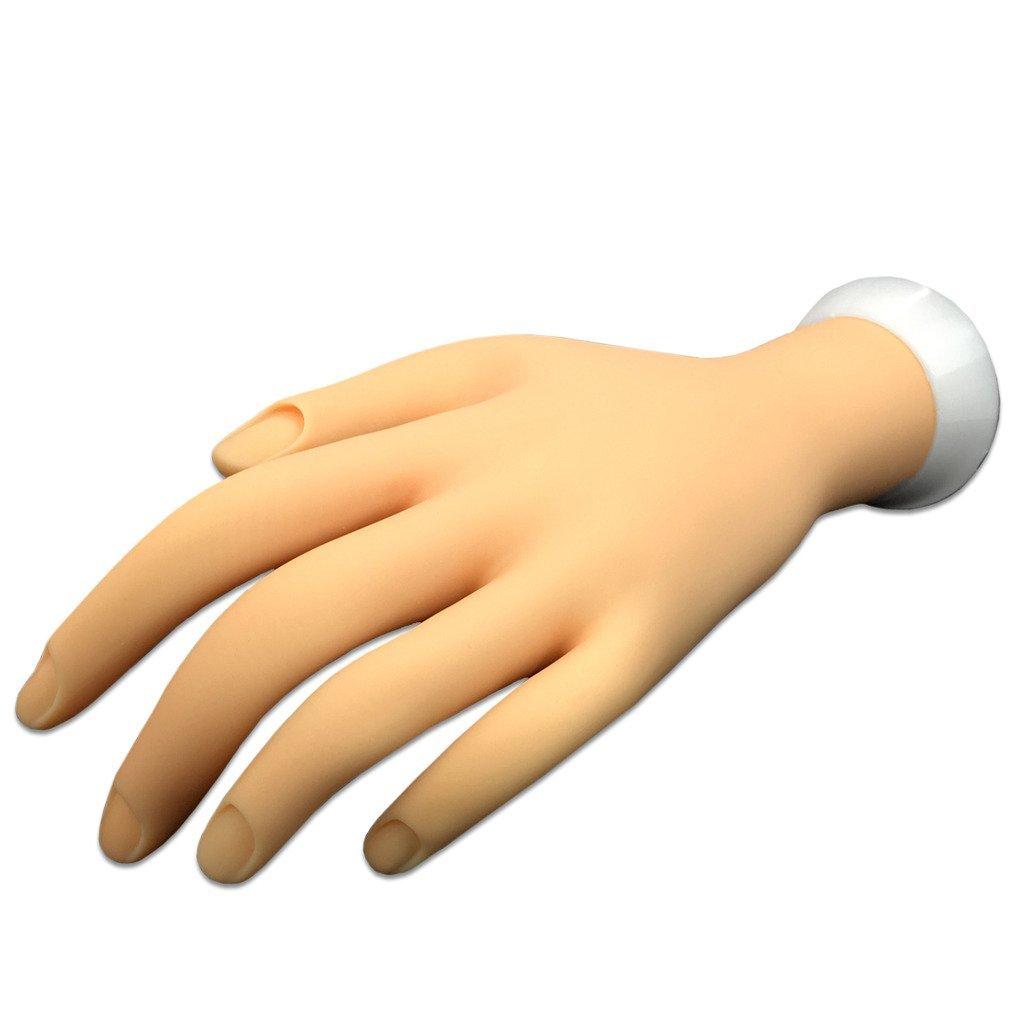 Amazon.com : Pana Brand Flexible Bendable Mannequin Hand Display ...