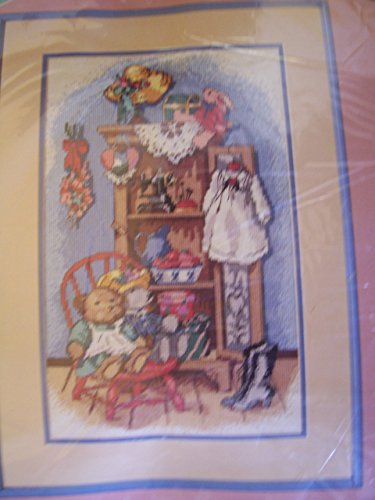 Country Cupboard Needlepoint Kit - Cupboard Kit