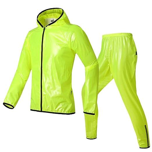 Traje de Lluvia de Alta Visibilidad (Traje de Abrigo y pantalón ...