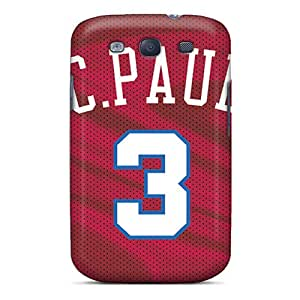 Shock Absorbent Hard Cell-phone Case For Samsung Galaxy S3 With Allow Personal Design Lifelike Los Angeles Clippers Image JasonPelletier