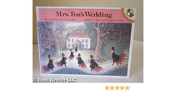 Fox S Wedding.Mrs Fox S Wedding Picture Puffin Sara Corrin Stephen Corrin