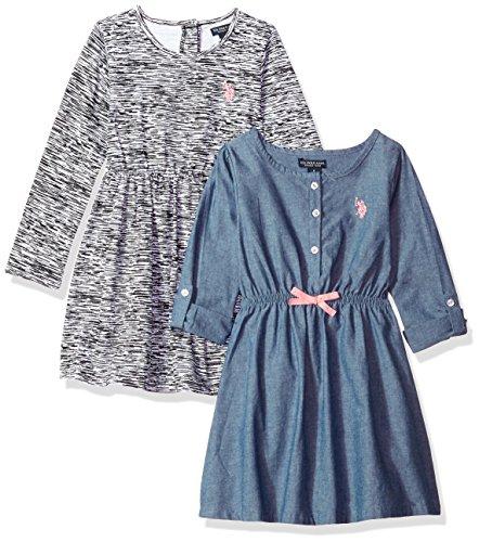 Girls Long Sleeved Dress - 1