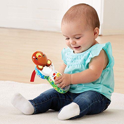 51gZAuIOXzL - VTech Baby Peek-a-Bear Baby Phone