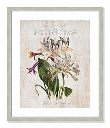 Casa Fine Arts Le Jardin des Fleurs I French Botanical Floral Vintage Style Archival Art Print 20.5