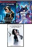 Ladies Action Sci-Fi 3 Ghost in the Shell + Underworld Blood Wars & Aeon Flux Triple Movie Feature