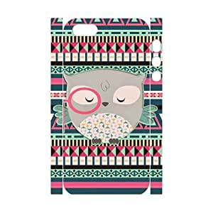 JFLIFE Cute Tribal Owl Phone Case for iphone5s 3D Shell Phone [Pattern-1]