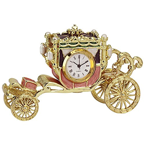 Design Toscano Collectible Romanov Style Enameled Carriage Clock: Baroque ()