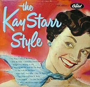 Kay Starr: The Kay Starr Style [VINYL LP] [MONO]