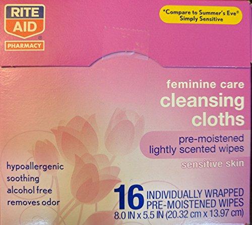 2-pack-rite-aid-sensitive-skin-feminine-care-cleansing-cloths-16-wipes-per-pack-8-x-55