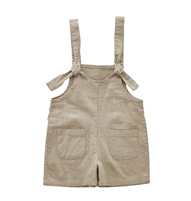 ebab74a0a04f famesale Baby Boy Girl Jumpsuit Jeans Child Harem Loose Hooks Pants  Children Suspenders  Amazon.co.uk  Clothing